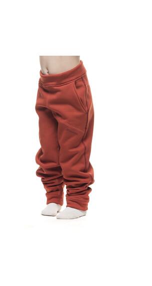 Houdini Kids Toasty Pant Burned Red
